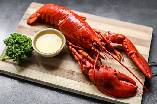 Boiled Lobster 1