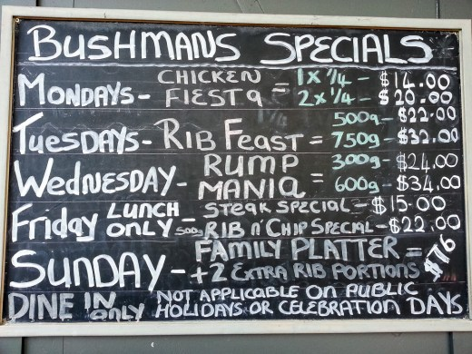 Bushman's Grill (North Shore City, New Zealand) 1