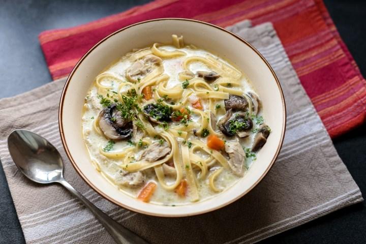 Chicken Noodle Soup Wide