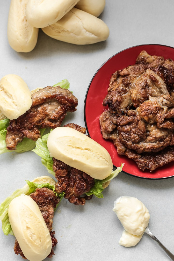 Pork Chop Bun