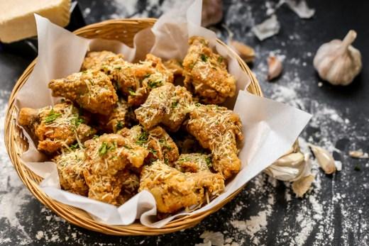Parmesan Garlic Fried Chicken 1