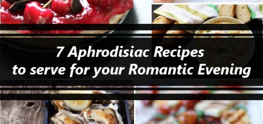 7 Aphrodisiac Recipes to serve for your Romantic Evening