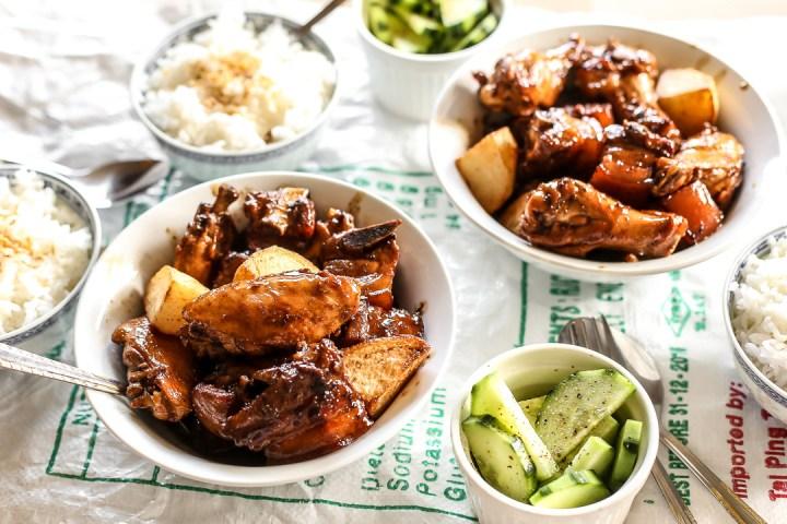 Chicken Pork Adobo Wide