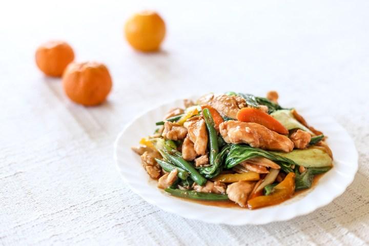 Hoisin Chicken Stir-fry Wide