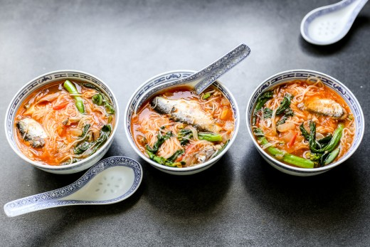 Sardines with Misua 1