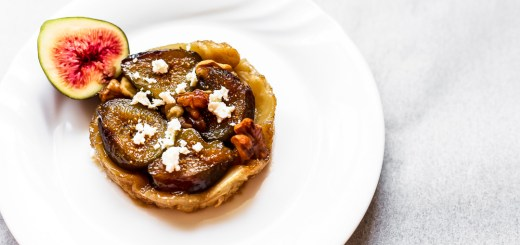 Fig, Walnut and Goats Cheese Feta Tarte Tatin 1