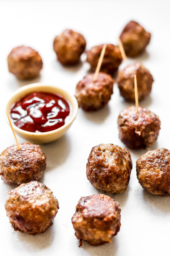 Fried Pork and Beef Meatballs
