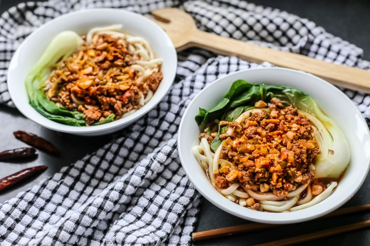 Szechuan Dan Dan Noodles Wide