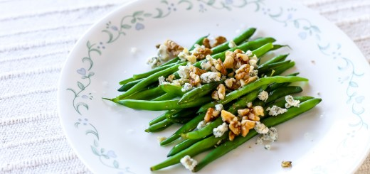 Blue Cheese Walnut Green Beans 1