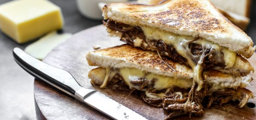 Brisket Grilled Cheese 1