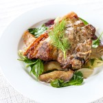 Grilled Pork, Fennel and Apples 1