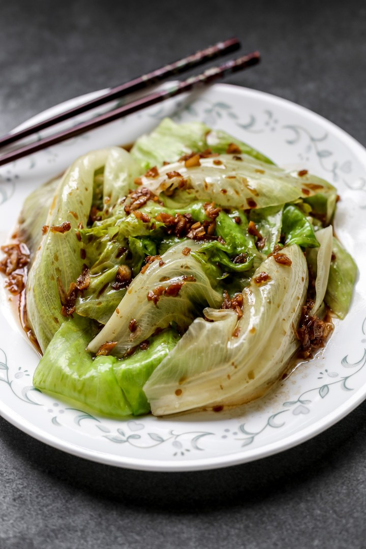 lettuce-garlic-oil