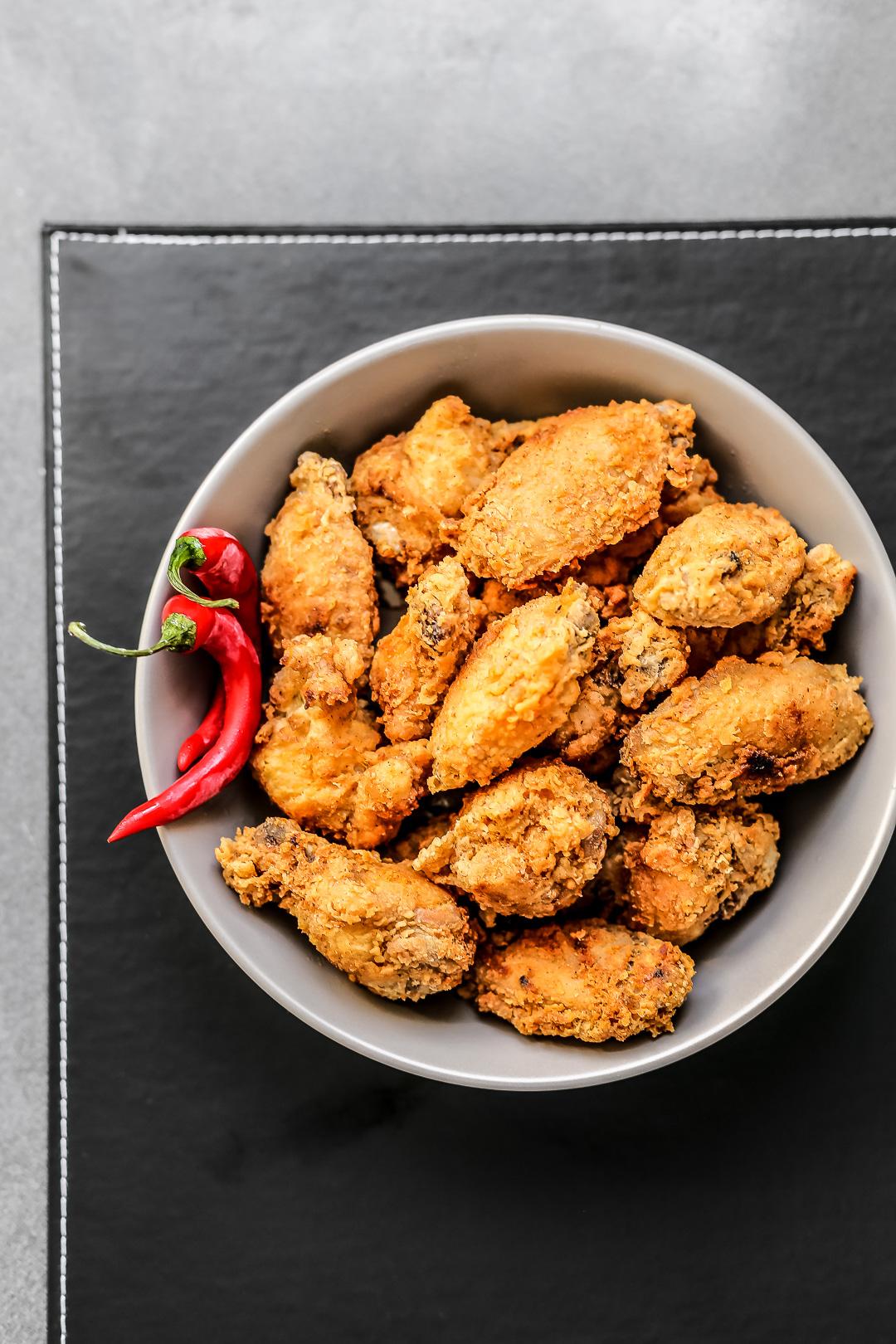 Spicy Fried Chicken Wings Recipe