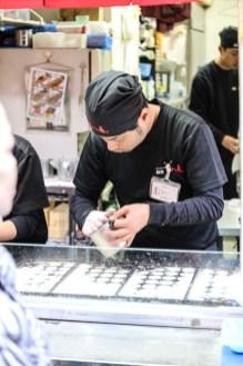 Takoyaki Jyuhachiban たこ焼十八番 道頓堀店 (Dotonbori, Osaka, Japan) 2