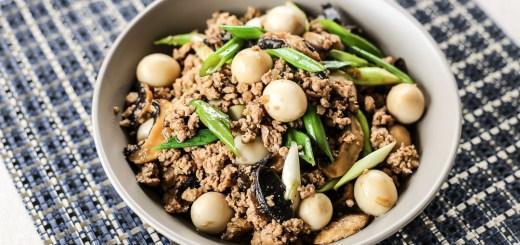 Asadong Pork Giniling with Quail Egg and Mushroom 1