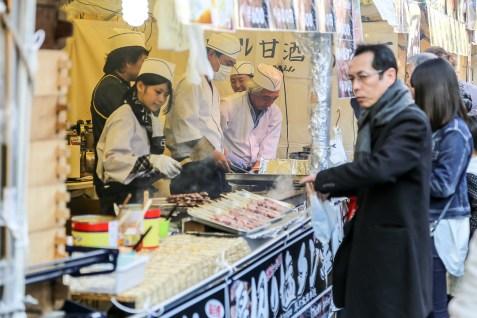 Meiji Jingu Open Air Food Court 14