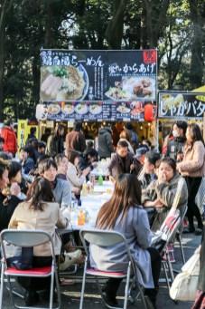 Meiji Jingu Open Air Food Court 47