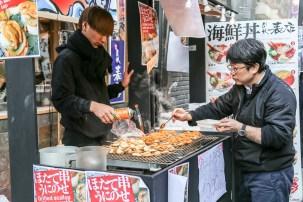 Tsukiji Fish Market Street Food 03