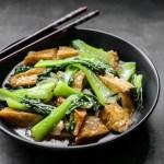 Stir Fried Bok Choy and Tofu 1