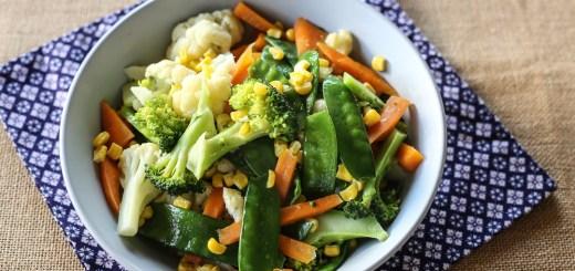 Buttered Vegetables 1