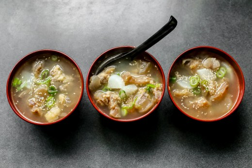 Beef Tendon Gumtang Collagen Soup 1