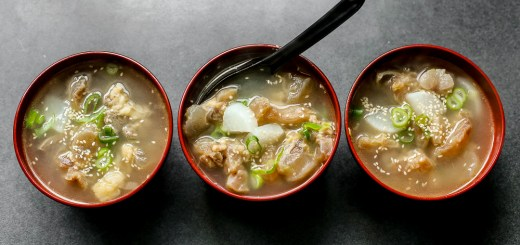 Beef Tendon Gumtang Collagen Soup 1