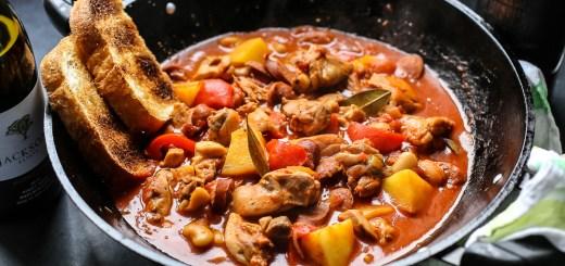 Spanish Chicken, Chorizo and Potato Stew 1