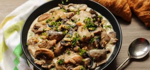 Creamy Garlic Mushroom Chicken 1