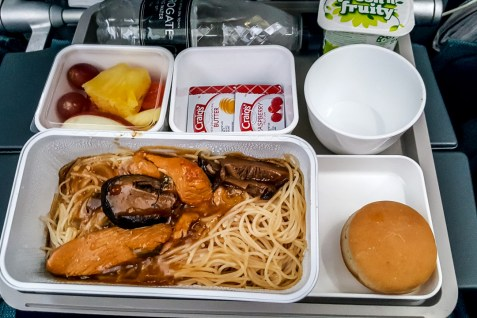 Airline Food - Cathay Pacific 02