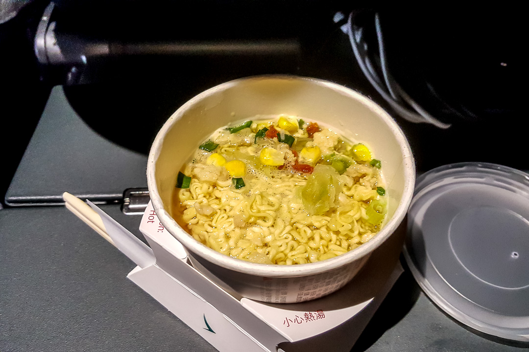 Airline Food - Cathay Pacific 09