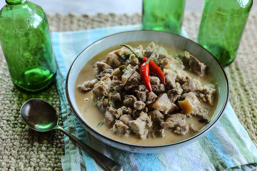 Bicol Express (Chilli and Pork in Coconut Gravy)