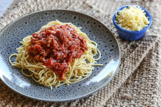 Corned Beef Spaghetti 1