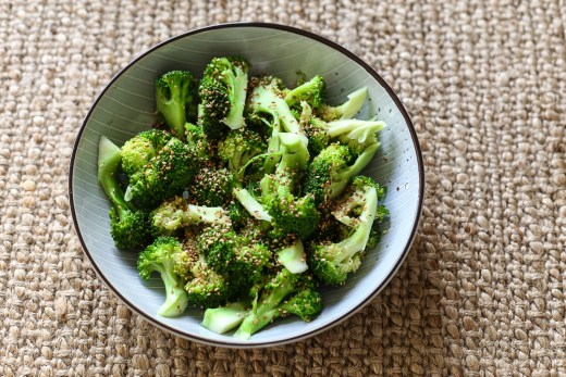 Sesame Broccoli 1