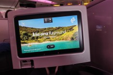 Airline Food - Air New Zealand Business Premiere 09