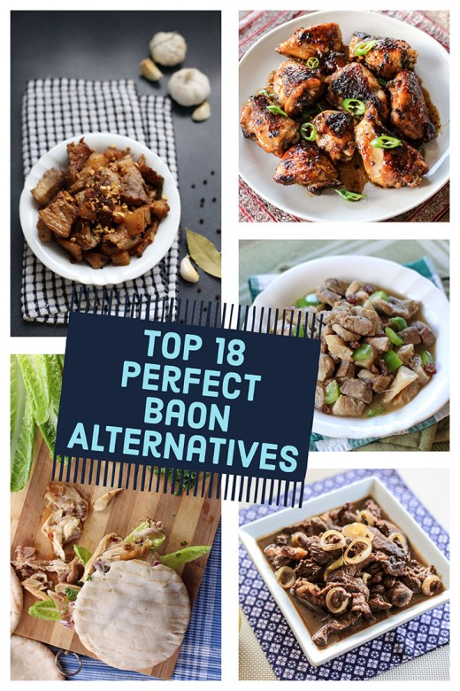 Top 18 Perfect Alternatives to your usual Baon 15