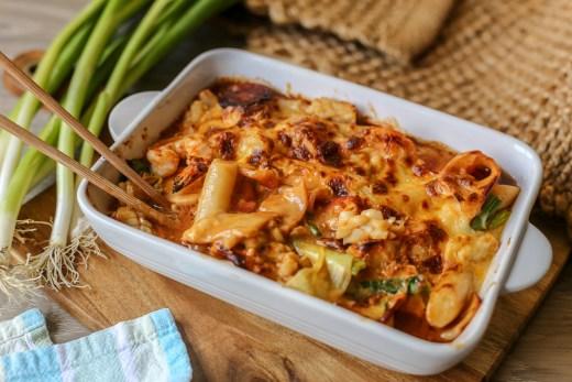 Cheesy Seafood Tteokbokki 3