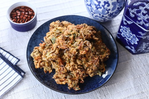 Clam and Vegetable Fritters 1
