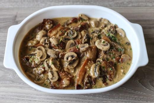 Pork Chops in Creamy Mushroom Sauce 2