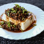 Steamed Tofu with Ground Pork 1