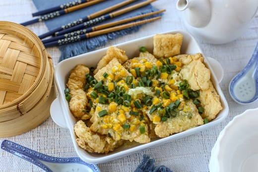 Hong Kong Style Fish Fillets in Corn Sauce 3