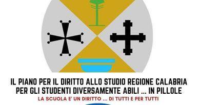Il Piano per il Diritto allo Studio della Regione Calabria per gli studenti diversamente abili … IN PILLOLE