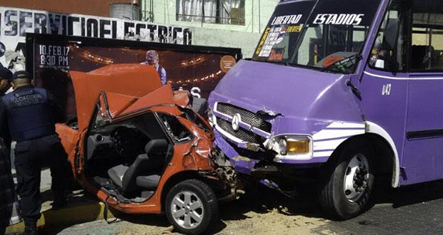 Tasa de incidencia de víctimas en accidentes viales de Puebla es 9ª mayor |  Ángulo 7