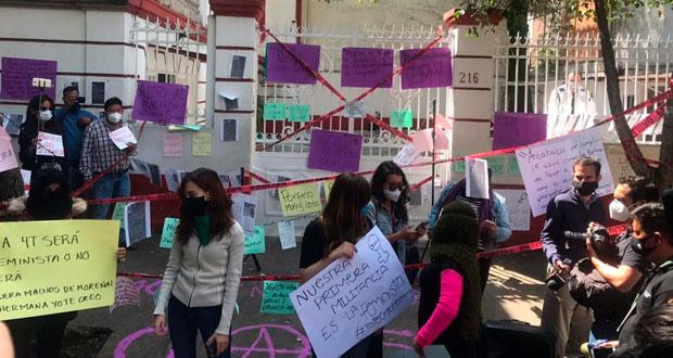 Protesta impide a Muñoz tomar CEN; Delgado urge nueva encuesta | Ángulo 7