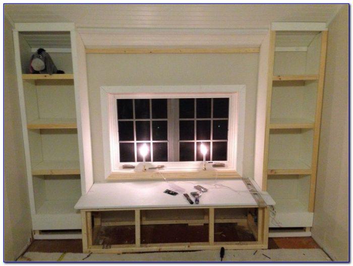 Ikea Billy Bookcase Window Seat Bookcase Home Design