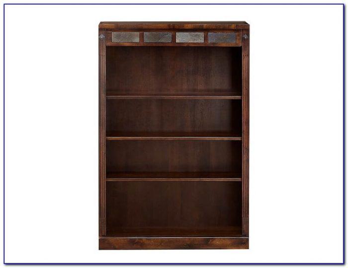 Dark Oak Bookcase 015