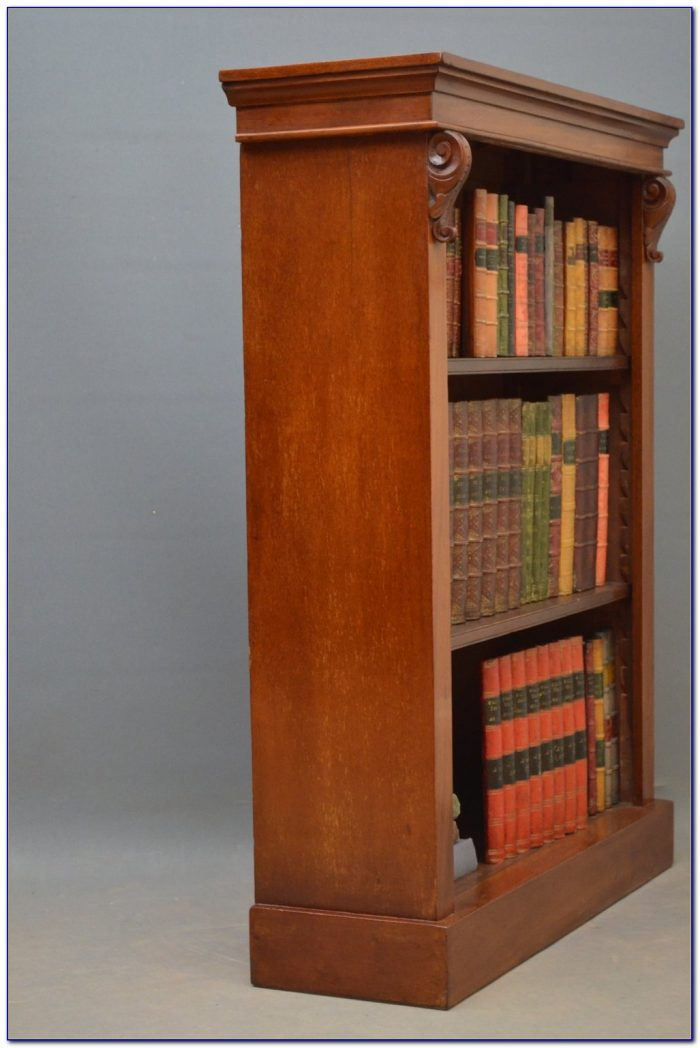 Small Antique Mahogany Bookcase Bookcase Home Design