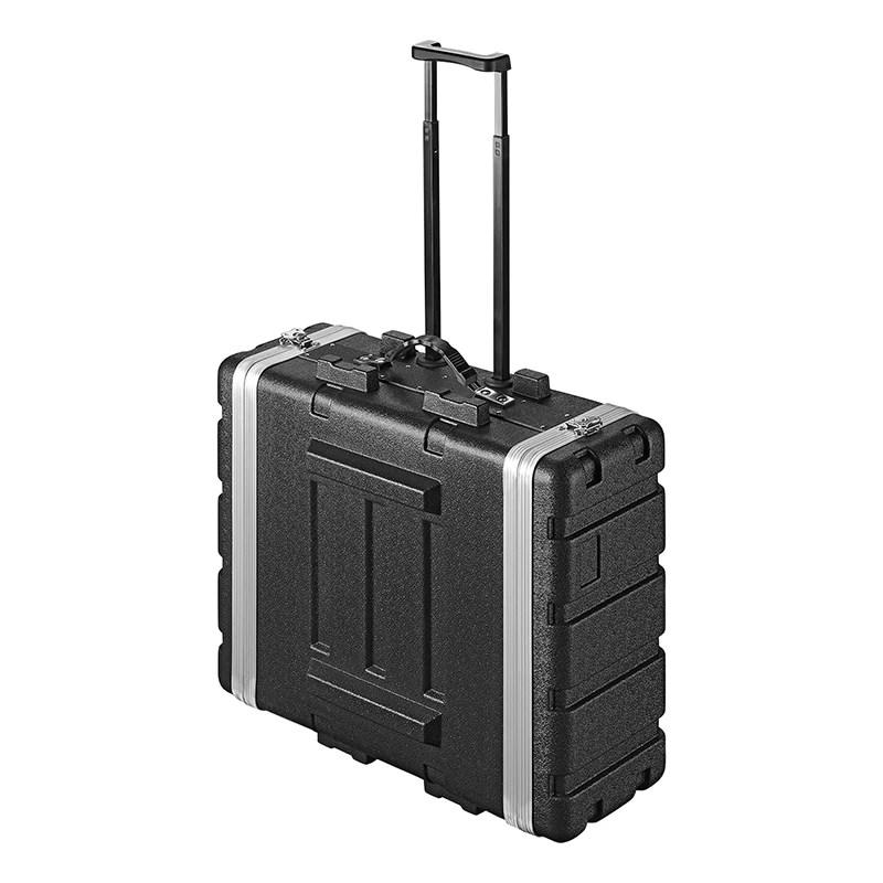 4u rack case 19 inch 4u flightcase trolley