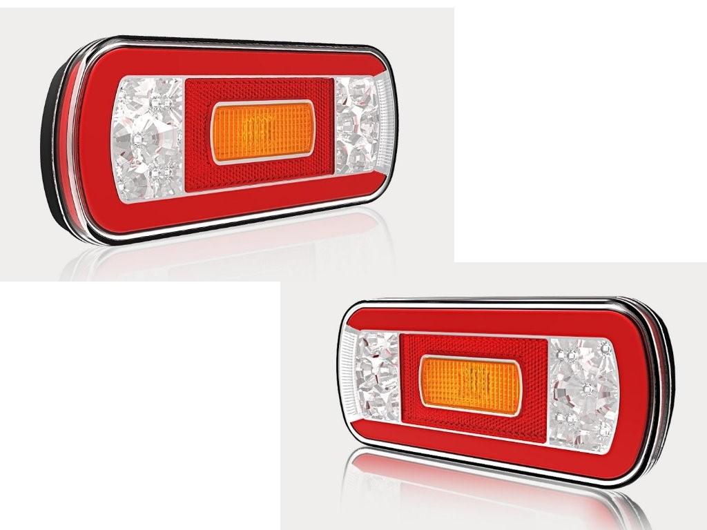 2 X Hecktrager Anhanger Kfz Pkw 4 Funktions Beleuchtung Ruckleuchten Led Set Neu Alfaqiih Com