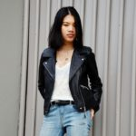 :: Outfit – Spring Uniform Light Denim, Biker Jacket & Leo Boots