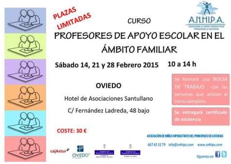 Curso de Profesores de Apoyo Escolar en el Ámbito Familiar Especialistas en TDAH